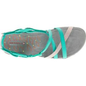 Merrell Terran Lattice II - Sandales Femme - turquoise
